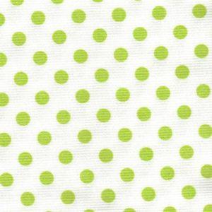 Pois37 imprimé 150cm de large (fat=50x75cm) Vert Anis