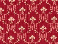 Tissus beaujolais c5114-red