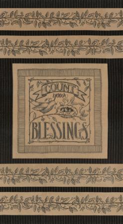 6080-11 Panneau Count Blessing