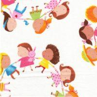 qdw3900-white rondes enfants