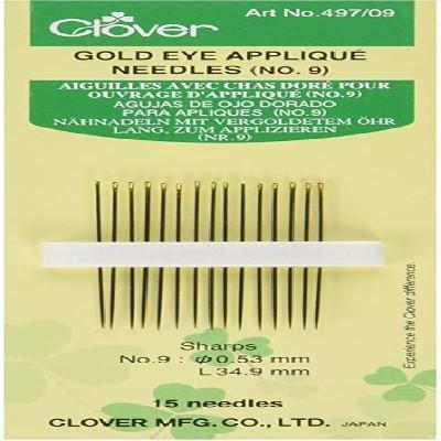 497-09 Aiguilles a appliquerClover