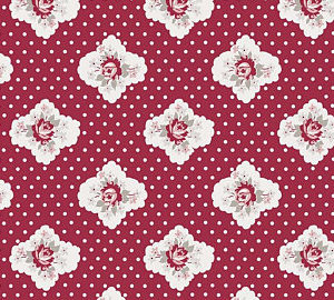 C7061-Red Rustic Romance Penny Rose
