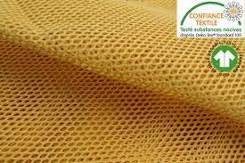 tissu-filet-coton-bio-oeko-tex-jaune-au-metre