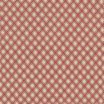 42181-4 elm cottage by l'Atelier perdu - Windham carreaux rouges sur fond ecru