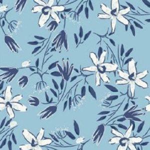 Tissu patchwork «Blue goose»  y3099-29