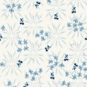 Tissu patchwork «Blue goose»  y3101-116